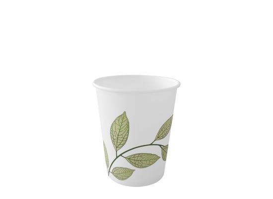 Coffee cup 7 oz / 210 ml - Green Leaves