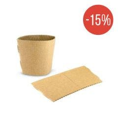 Cardboard sleeve for coffee cup 12 oz / 360 ml