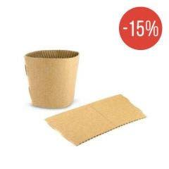 Cardboard sleeve for coffee cup 12 oz / 360 ml - Sale