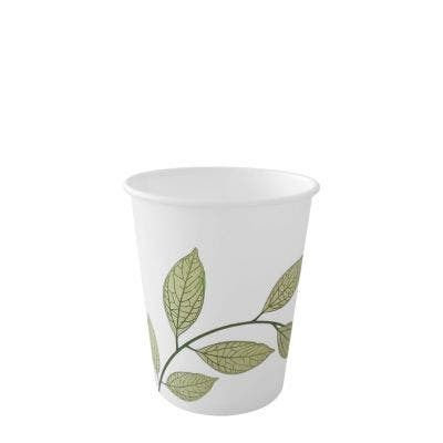 Coffee cup 7 oz / 210 ml - Green Leaves