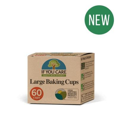 If You Care - Baking Cups Large - New
