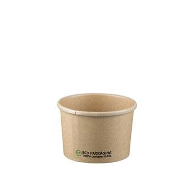 Kraft Soup container 8oz / 240ml