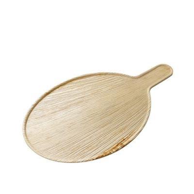 Palmleaf oval serving platter