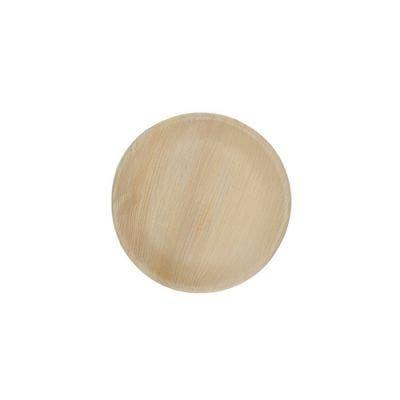 Thali Premium palm leaf plate round 18 cm