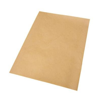 FSC® Greaseproof paper 30 x 40 cm - Brown