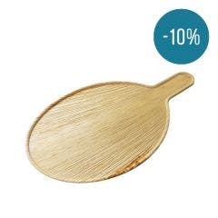 Palm leaf oval serving platter - Promo 10%