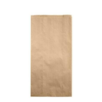 FSC® Kraft bag with side gussets L