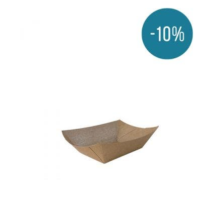 Kraft food tray S - 10%