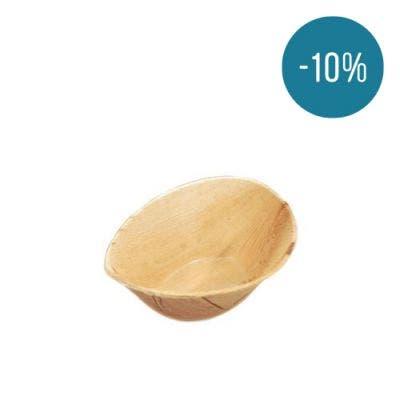 Thali Premium palm leaf bowl 250 ml - Promo 10%