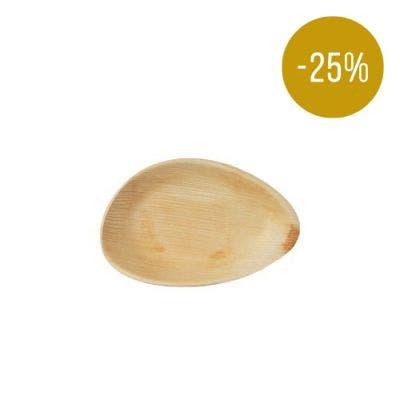 Thali Premium palm leaf oval 17 cm - SALE! -25%