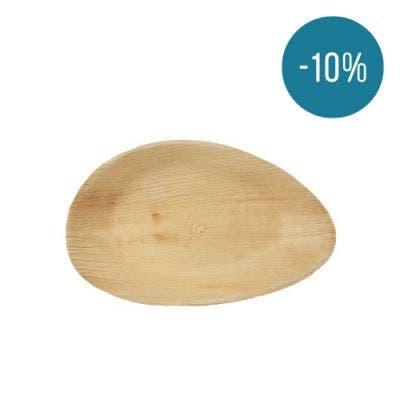Thali Premium palm leaf oval 26 cm - Promo 10%