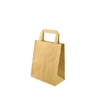 Kraft carrier bag S