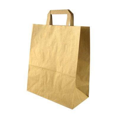 Kraft carrier bag L