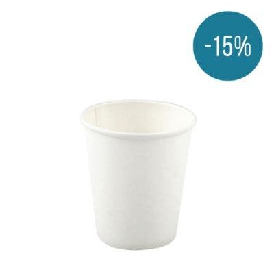 Coffee cup 7 oz / 210 ml white - Promo 15%