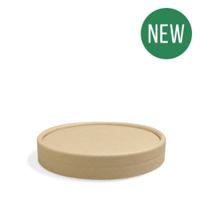 Lid for bamboo ice cup 8 oz / 240 ml - NEW