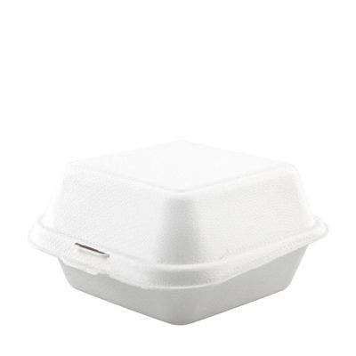 Sugarcane hamburger box 15 oz / 450 ml