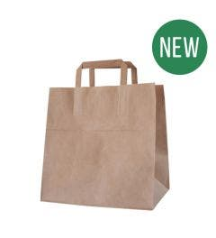 Kraft carrier bag XL