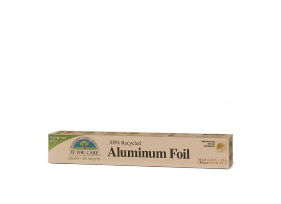 If You Care  - 100% Recycled Aluminium Foil