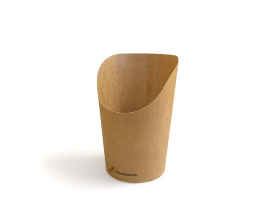FSC® Kraft Wrap Cup