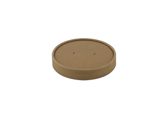 Kraft paper lid for 26-32 oz / 700-950 ml cup