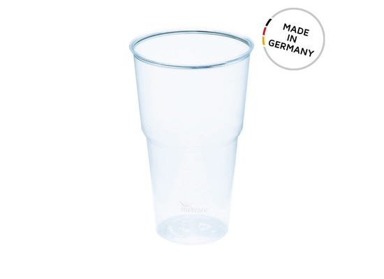 BioWare PLA cup 16 oz / 500 ml - Made in Germany