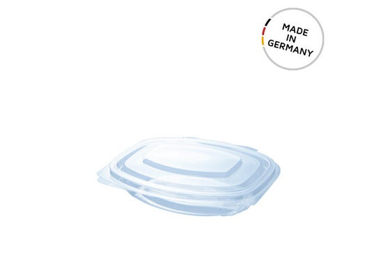 PLA clamshell 8 oz / 250 ml - Made in Germany