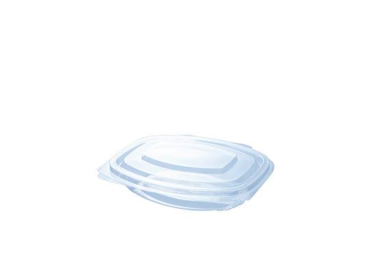 PLA clamshell 8 oz / 250 ml