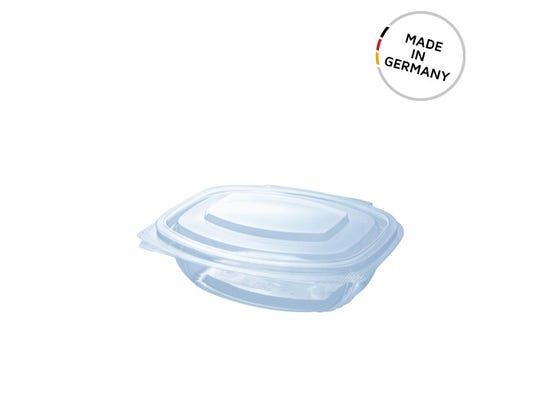 PLA clamshell 12.5 oz / 375 ml -  Made in Germany