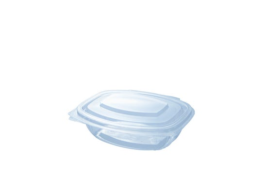 PLA clamshell 12.5 oz / 375 ml