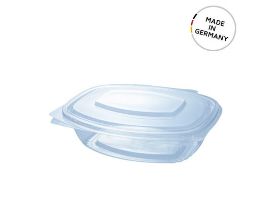 PLA clamshell 25 oz / 750 ml - Made in Germany