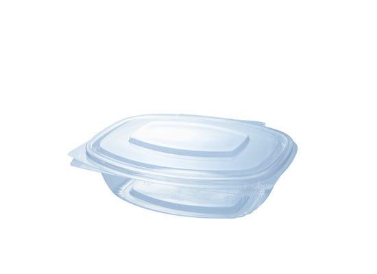 PLA clamshell 25 oz / 750 ml