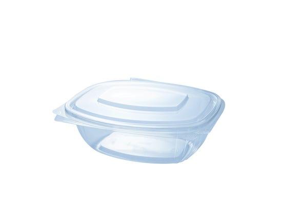 PLA clamshell 34 oz / 1000 ml