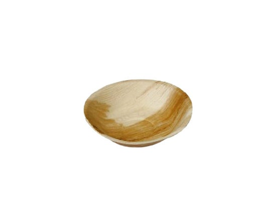 Palm leaf soup plate 10 oz / 300 ml