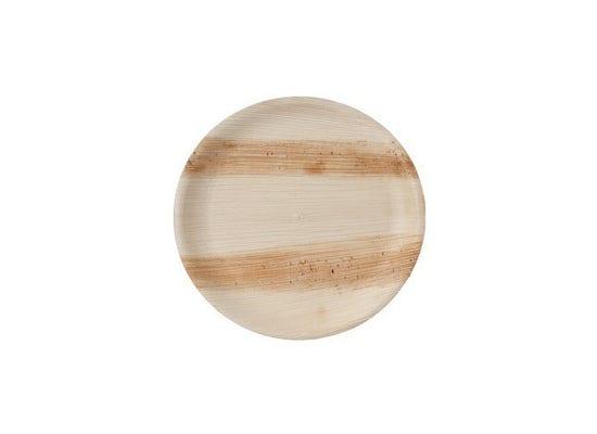 Thali Premium palm leaf plate round 25 cm