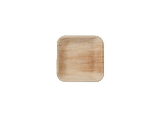 Thali Premium palm leaf square 17 cm