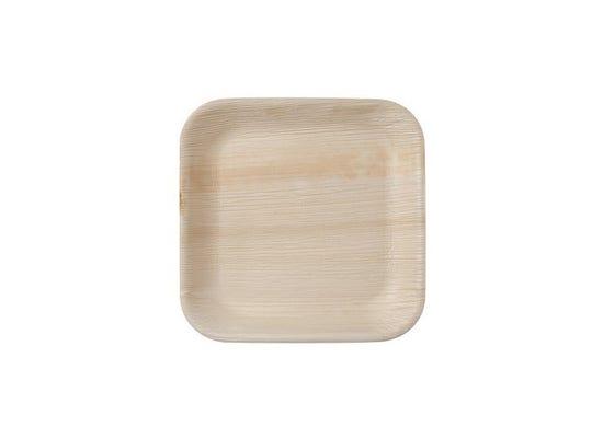 Thali Premium palm leaf square 24 cm