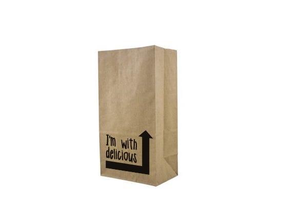 Paper block bottom bag S - Vincent Vegan