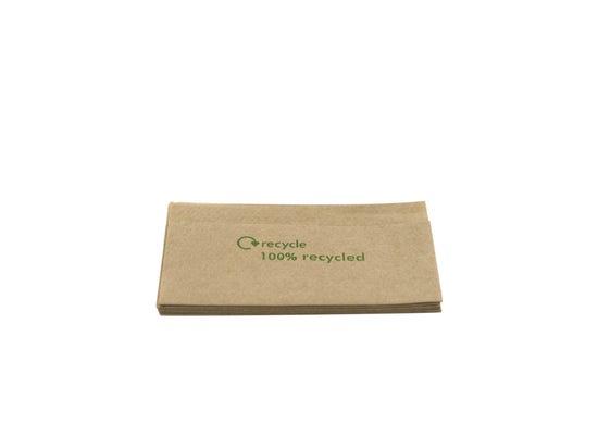 FSC® Napkins 1-ply 16 x 9 cm unbleached