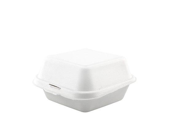 Sugarcane hamburger box 15 oz / 450 ml