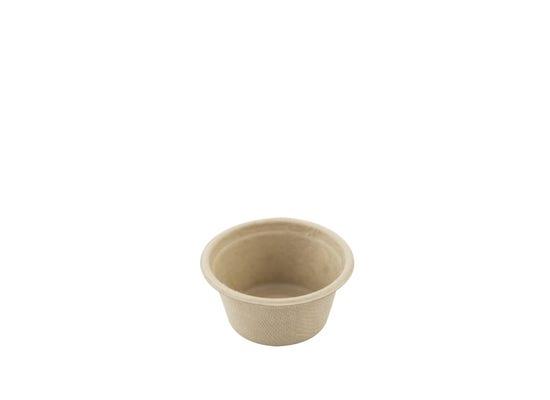 Sugarcane dip bowl 1.5 oz / 45 ml - unbleached