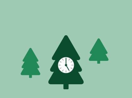 Neuigkeiten: Servicezeiten an den Feiertagen