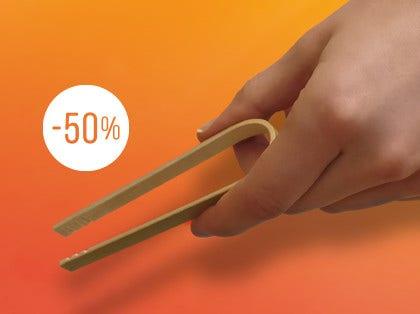 Udsalg: tang af bambus