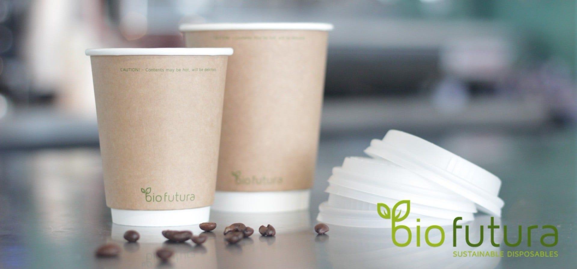 Koffiebekers Kraft Bio Futura