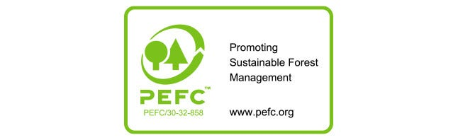 PEFC - Sustainable sourcing of wood and paper